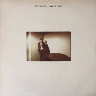 Chris Rea ‎- Water Sign (LP) (EX/G+)
